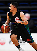 Auckland Super City Rangers Daniel Green in action during a match against the Taylor Hawks.<br /> Super City Rangers v Taylor Hawks, NBL NZ, Trusts Arena, Auckland, New Zealand. 7 July 2018. © Copyright Image: Marc Shannon / www.photosport.nz.