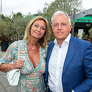 NLD/Hoofddorp/20190603 - 39ste Society Lunch, Sandra Birsak en partner Peter Roels