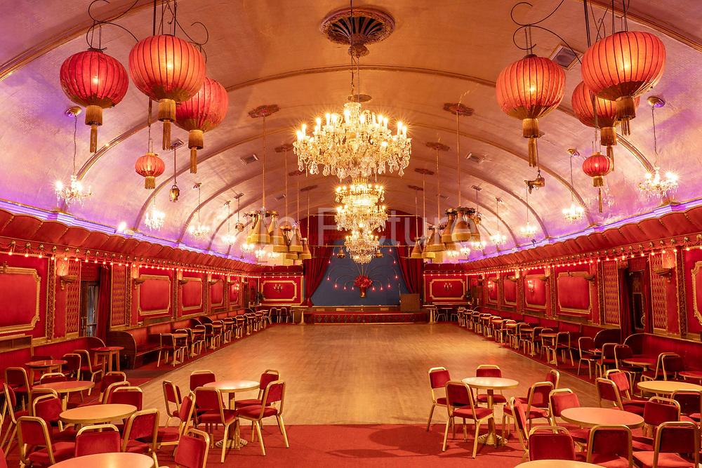 Rivoli Ballroom on the 8th October 2019 in London in the United Kingdom. The Rivoli Ballroom is the only intact 1950s ballroom remaining in London, England.