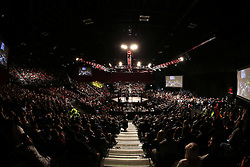 General view during the Interim Light Heavyweight Title bout of the Extreme Fighting Championships, EFC 52 held at the Grand West Casino in Cape Town, South Africa on the 5th August 2016<br /> <br /> Photo by:   Shaun Roy / Real Time Images