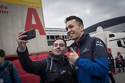 February 20, 2019 - Montmelo, Barcelona, Spain - Alexander Albon of Toro Rosso F1 Team  in the Paddock area of the Circuit de Catalunya in Montmelo (Barcelona province) during the pre-season testing session. (Credit Image: © Jordi Boixareu/ZUMA Wire)
