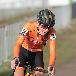 04-11-2018: Wielrennen: EK veldrijden: Rosmalen <br />Fleur Nagengast