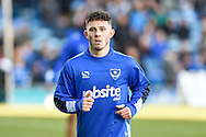 Portsmouth Forward, Conor Chaplin (19) during the EFL Sky Bet League 2 match between Portsmouth and Exeter City at Fratton Park, Portsmouth, England on 28 January 2017. Photo by Adam Rivers.