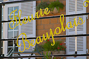 Fleurie Beaujolais. Beaujolais, Burgundy, France