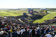 Illustration 1th tee during the practice round of Ryder Cup 2018, at Golf National in Saint-Quentin-en-Yvelines, France, September 27, 2018 - Photo Philippe Millereau / KMSP / ProSportsImages / DPPI