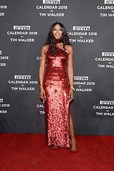 Naomi Campbell attends the Pirelli Calendar 2018 Launch Gala at The Manhattan Center in New York, NY, on November 10, 2017. (Photo by Anthony Behar/Sipa USA)