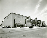 1951 Mutual Don Lee Radio and Television Broadcasting System on Vine St.