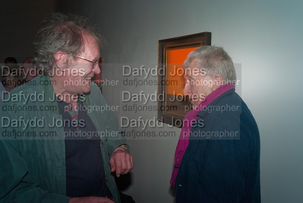 BRIAN YOUNG; TONY FRY, Craigie Aitchison - private view<br /> Memorial retrospective, Timothy Taylor Gallery, 15 Carlos Place, London 28 March 2012.