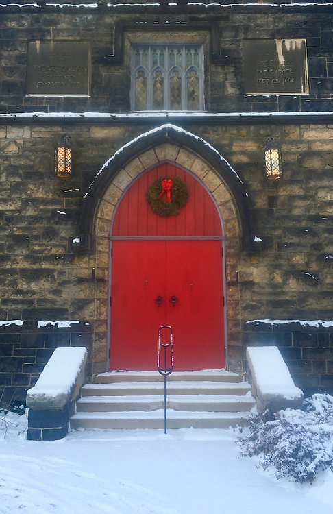 Ascension Anglican Church Door, Oakland, Pittsburgh