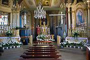 Kociół św. Erazma w Barwałdzie Dolnym.<br /> The Parish Church of St. Erasmus in Barwald Dolny.