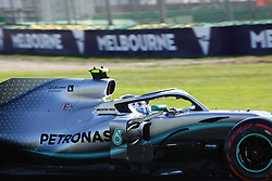 March 15, 2019 - VALTTERI BOTTAS during Friday Practice at the Australian Formula 1 Grand Prix in Melbourne on March 15, 2019  (Credit Image: © Christopher Khoury/Australian Press Agency via ZUMA  Wire)