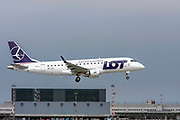 LOT - Polish Airlines / Polskie Linie Lotnicze, Embraer ERJ-175STD at Malpensa (MXP / LIMC), Milan, Italy