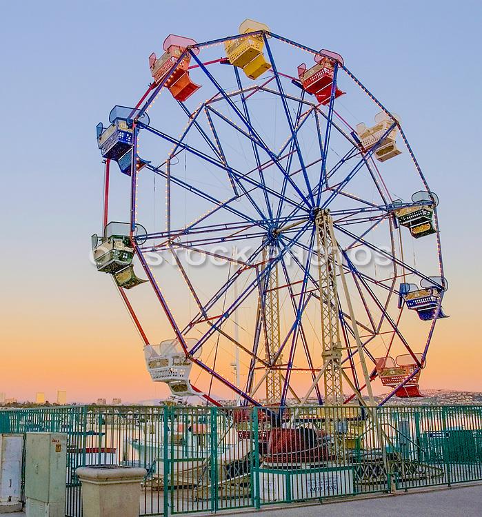 Ferris Wheel at Balboa Fun ZoneaFerris Wheel at Balboa Fun Zone in Newport Beach