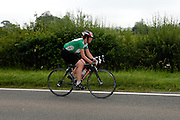 UK, Chelmsford, 28 June 2009: MOLLY COOPER (LS) LEA VALLEY C C. completed the E9 / 25 course in 1 hour 24 mins 23 secs. Images from the Chelmer Cycle Club's Open Time Trial Event on the E9 / 25 course. Photo by Peter Horrell / http://peterhorrell.com .