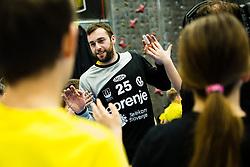 Verdenik Matic of RK Gorenje Velenje during handball match between RK Gorenje Velenje and Abanca Ademar Leon in Round #32 of EHF Cup 2019/20, 28 February, 2020 in Rdeca Dvorana, Velenje Slovenia. Photo By Grega Valancic / Sportida