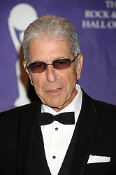 March 10 2008, New York City Musician Leonard Cohen in the press room at the 2008 Rock & Roll Hall of Fame Induction ceremony at the Waldorf-Astoria Hotel in midtown Manhattan  (Credit Image: © Sharkpixs/ZUMA Press)