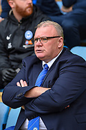 Peterborough United manager Steve Evans during the EFL Sky Bet League 1 match between Gillingham and Peterborough United at the MEMS Priestfield Stadium, Gillingham, England on 22 September 2018. Picture by Martin Cole