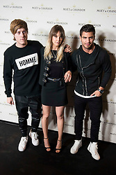 """02.12.2015, Madrid, ESP, Moet & Chandon Party, OpenTheNow, im Bild Gerard Estadella and Maxi Iglesias attends to the // Red Carpet of the party """"OpenTheNow of Moet & Chandon in Madrid, Spain on 2015/12/02. EXPA Pictures © 2015, PhotoCredit: EXPA/ Alterphotos/ BorjaB.hojas<br /> <br /> *****ATTENTION - OUT of ESP, SUI*****"""