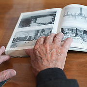 VENICE, ITALY - APRIL 03:  Details of the hands  of ÊAuschwitz Survivor Antonio Boldrin seen on top of  a book about Auschwitz  on April 3, 2012 in Venice, Italy. Sentenced to death and already in front of the execution fire squad Boldrin was rescued by the Russian Army and was one of the few lucky prisoners that managed to survive the concentration camp.  (Photo by Marco Secchi/Getty Images)