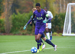 November 6, 2018 - London, England, United Kingdom - Enfield, UK. 06 November, 2018.Brandon Austin of Tottenham Hotspur.during UEFA Youth League match between Tottenham Hotspur and PSV Eindhoven at Hotspur Way, Enfield. (Credit Image: © Action Foto Sport/NurPhoto via ZUMA Press)