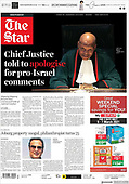 March 05, 2021 (AFRICA): Front-page: Today's Newspapers In Africa