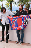 Director Lisandro Alonso and Actor Viggo Mortensen at the photo call for the film Jauja at the 67th Cannes Film Festival, Sunday 18th May 2014, Cannes, France.