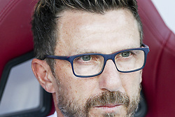 August 19, 2018 - Turin, Italy - Roma coach Eusebio Di Francesco during the Serie A football match n.1 TORINO - ROMA on 19/08/2018 at the Stadio Olimpico Grande Torino in Turin, Italy. (Credit Image: © Matteo Bottanelli/NurPhoto via ZUMA Press)
