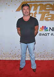 August 14, 2018 - Hollywood, California, U.S. - Simon Cowell arrives for the 'America's Got Talent' Live Show Screening and Red Carpet at the Dolby Theatre. (Credit Image: © Lisa O'Connor via ZUMA Wire)