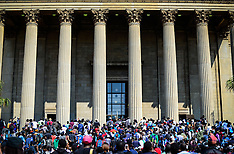 South Africa - Fees Must Fall Protest - 20 Sep 2016