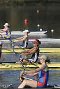 Hazewinkel, BELGIUM,  Women's Pair,  Bow, Vicki ETIEBET and Rebecca ROWE,  move away from the start pontoon in the Sunday afternoon semi final, at the GB Rowing Senior Trials, on Sun,15.04.2007  [Credit, Peter Spurrier/Intersport-images]   [Mandatory Credit, Peter Spurier/ Intersport Images]. , Rowing Course, Bloso, Hazewinkel. BELGUIM