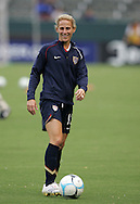 25 August 2007: Kristine Lilly. The United States Women's National Team defeated the Women's National Team of Finland 4-0 at the Home Depot Center in Carson, California in an International Friendly soccer match.
