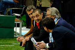 April 8, 2018 - Nanterre, Hauts de Seine, France - RC Toulon owner MOURAD BOUDJELLAL during the French rugby championship Top 14 match between Racing 92 and RC Toulon at U Arena Stadium in Nanterre - France..Racing 92 Won  17-13. (Credit Image: © Pierre Stevenin via ZUMA Wire)
