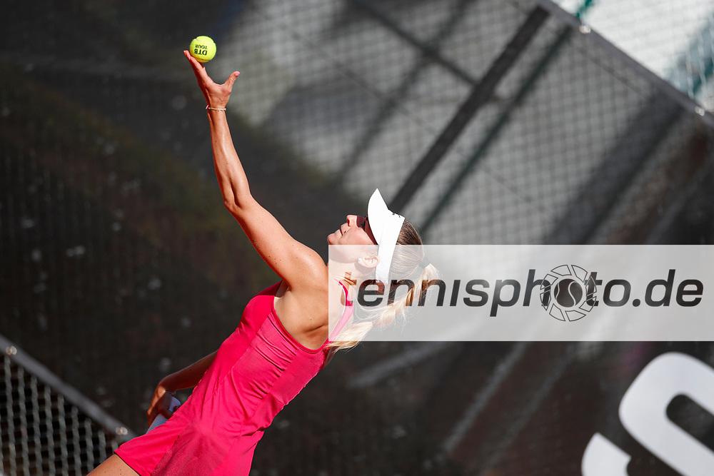 Anna Bondar (HUN) - WTO Wiesbaden Tennis Open - ITF World Tennis Tour 80K, 25.9.2021, Wiesbaden (T2 Sport Health Club), Deutschland, Photo: Mathias Schulz