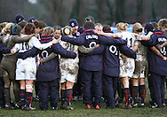 29 Feb 2010 Esher, Surrey: England team players wind down after the Women's Six Nations game between England and Ireland at Esher Rugby Club (photo by Andrew Tobin/SLIK images)