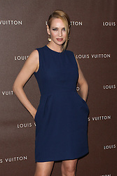 Uma Thurman poses prior to the Louis Vuitton Maison opening, Munich, Germany, on April 23, 2013, April 24, 2013. Photo by: Schneider-Press / i-Images. .UK & USA ONLY. .