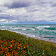 """Colors of Autumn on Lake Superior"" <br />