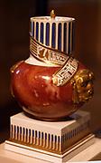 Egyptianising potpourri vase 1795 Royal Porcelain Manufacturer Ceramic