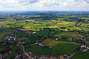 Nederland, Gelderland, Gemeente Berkelland, 30-06-2011; Beltrum, dorp in Nationale Landschap De Achterhoek. De vorm van het huidige landschap rond het dorp is het gevolg van ruilverkaveling. Kleinschalige structuur, coulisselandschap met houtopstanden. Ruilverkavelingen naar ontwerp van landschapsarchitect Harry de Vroome uitgevoerd in de jaren '50..Beltrum, village in the National Landscape Achterhoek. The shape of the current landscape surrounding the village is the result of land consolidation. Small-scale structure, bocage with standing timber. Land consolidation designed by the landscape architect Harry Vroome and performed in the 50s..luchtfoto (toeslag), aerial photo (additional fee required).copyright foto/photo Siebe Swart