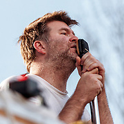 LCD Soundsystem photo by Mara Robinson at Pitchfork Music Festival, Saturday July 17, 2010 at Union Park  by Cleveland Music Photographer Mara Robinson