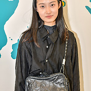 Designer Tian TianXingzi of China, Sichuan Fine Art Institute showcases at the Graduate Fashion Week 2019 - Final Day, on 5 June 2019, Old Truman Brewery, London, UK.