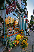 Jim Thorpe Fall Foliage Celebration, Street Decor, Jim Thorpe, Carbon Co., PA