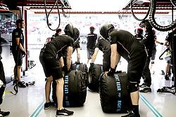 May 10, 2019 - Barcelona, Spain - Motorsports: FIA Formula One World Championship 2019, Grand Prix of Spain, ..Mechanic of Mercedes AMG Petronas Motorsport  (Credit Image: © Hoch Zwei via ZUMA Wire)
