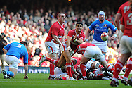 RBS Six nations championship 2012, Wales v Italy at the Millennium Stadium in Cardiff on Saturday 10th March 2012. pic by Andrew Orchard, Andrew Orchard sports photography
