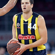Fenerbahce Ulker's Bojan BOGDANOVIC during their Two Nations Cup basketball match Fenerbahce Ulker between Olimpiakos at Abdi Ipekci Arena in Istanbul Turkey on Saturday 01 October 2011. Photo by TURKPIX