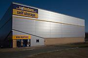 Safestore self storage depot building, Whitehouse, Ipswich, Suffolk, England