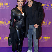 NLD/Amsterdam/20181030 - Premiere Bohemian Rapsody, Mariska van Kolck en zoon Christopher