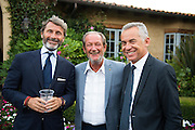 August 14-16, 2012 - Lamborghini North American Club Dinner : CEO Stephan Winkelmann, Valentino Balboni and Maurizio Reggiani