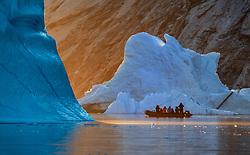 Iceberg in Scoresby Sound, Greenland