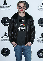 LOS ANGELES, CA, USA - JANUARY 23: Los Angeles Art Show 2019 Opening Night Gala held at the Los Angeles Convention Center on January 23, 2019 in Los Angeles, California, United States. 23 Jan 2019 Pictured: Chord Overstreet. Photo credit: Xavier Collin/Image Press Agency / MEGA TheMegaAgency.com +1 888 505 6342