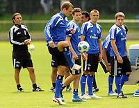 Fotball<br /> Tyskland<br /> Foto: Witters/Digitalsport<br /> NORWAY ONLY<br /> <br /> 31.07.2009<br /> <br /> v.l. David Rozehnal, Marcus Berg<br /> Fussball Hamburger SV, Training